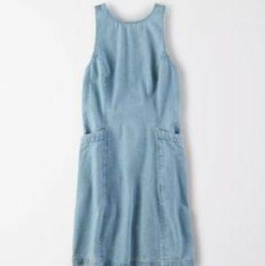 American Eagle Denim Mini Dress L